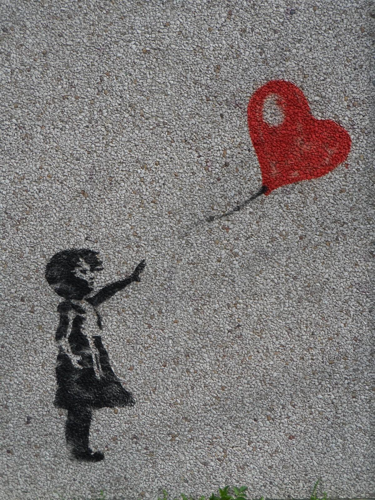 Martin Young Blog Letting Go Banksy Balloon