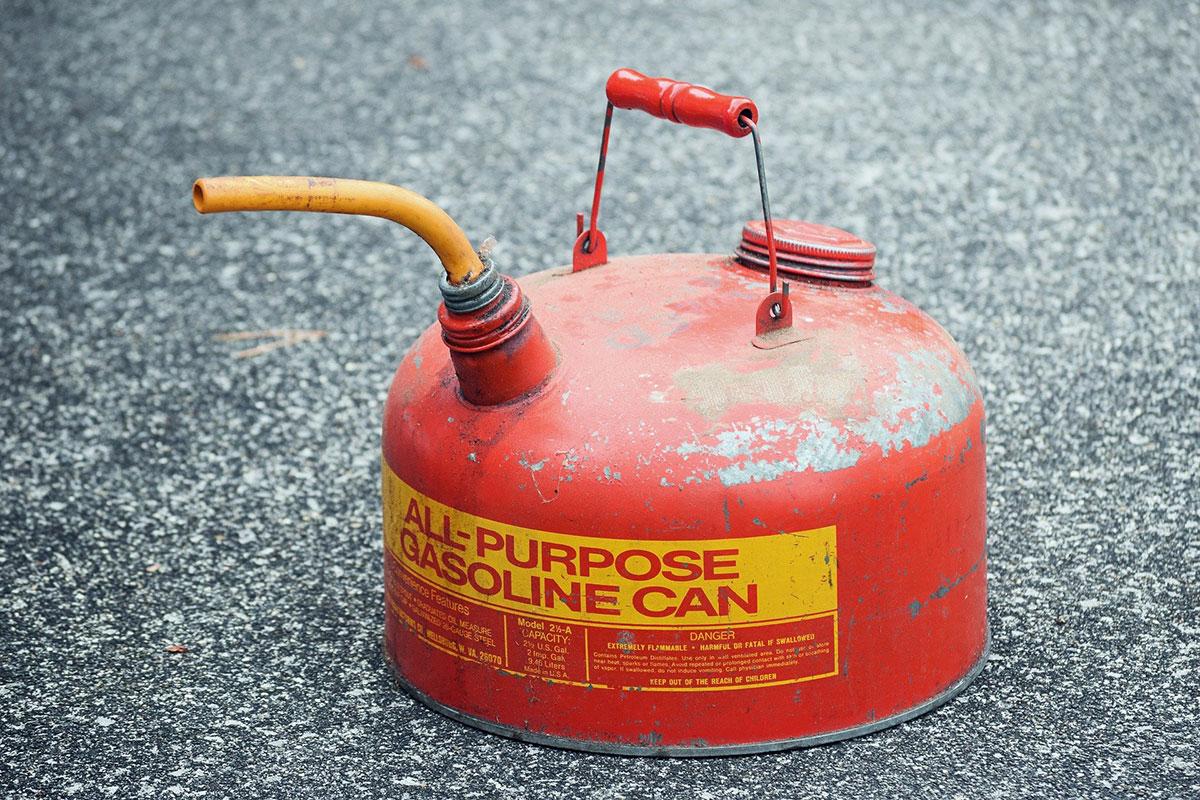 Wisdom for Living Gasoline Can